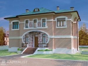 Готовые проекты частных загородных домов купить - Медисон