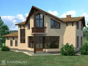 Готовые проекты частных загородных домов купить - Кондор