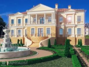 Готовые проекты частных загородных домов купить - Дижон