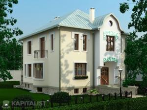 Готовые проекты частных загородных домов купить - Финист