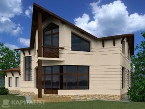 Готовые проекты частных загородных домов купить - Бремен