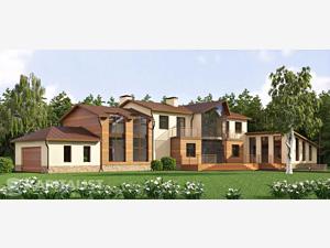 Готовые проекты частных загородных домов купить - Солярис