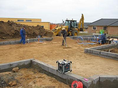 Фундаменты, используемые в загородном строительстве