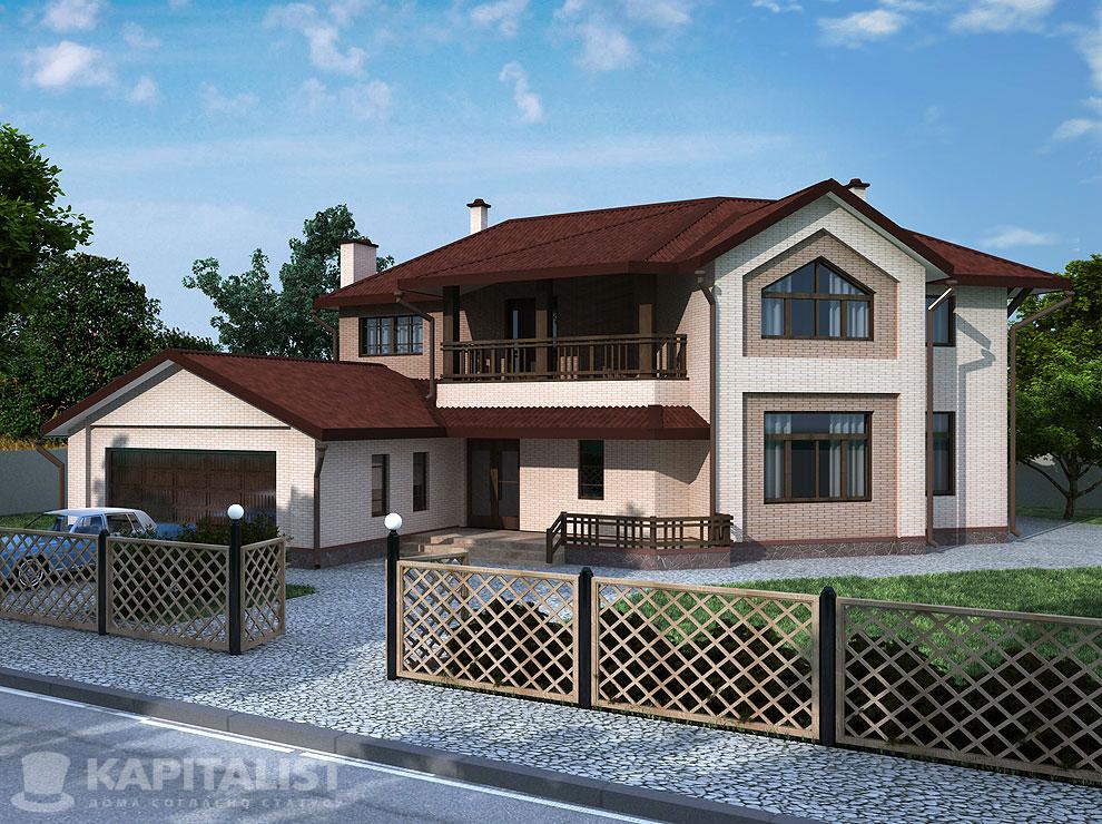 Гостевые дома с балконами..