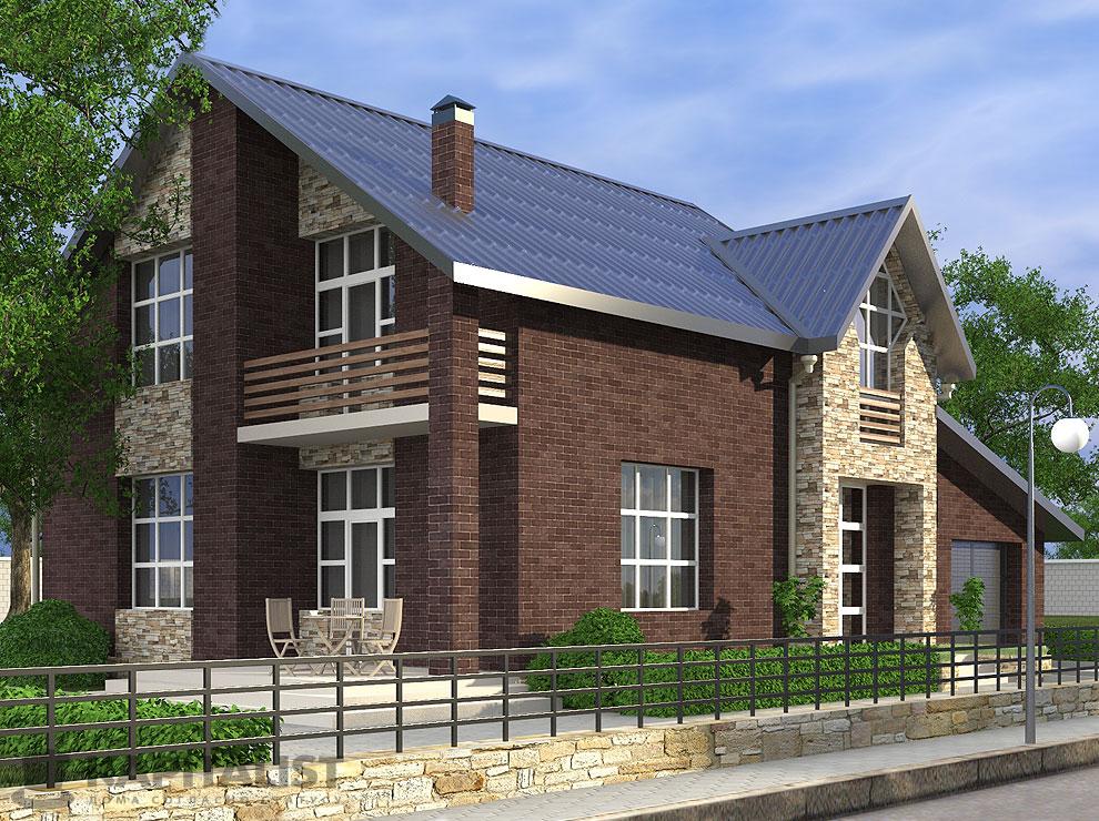Типовые проекты домов купить по цене 40000.00 в компании kap.
